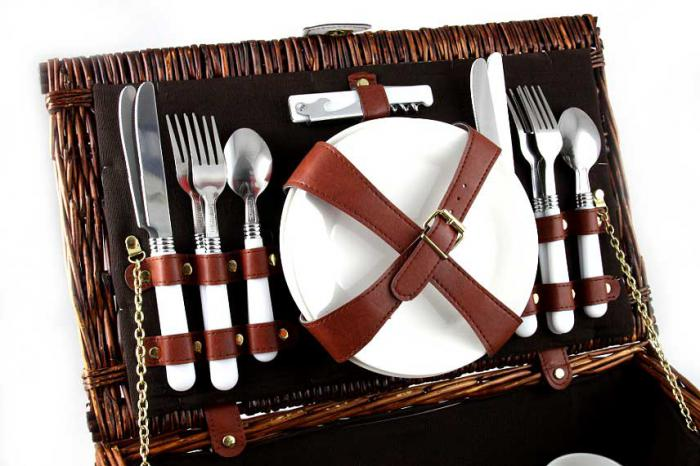 Coş picnic 4 persoane Carpaţi-big