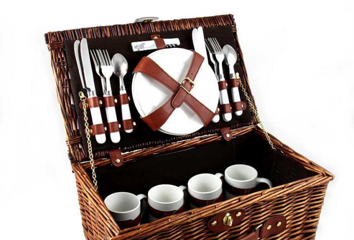 Coş picnic 4 persoane Carpaţi 0