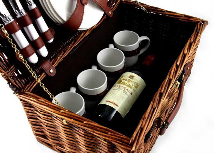Coş picnic 4 persoane Carpaţi 1
