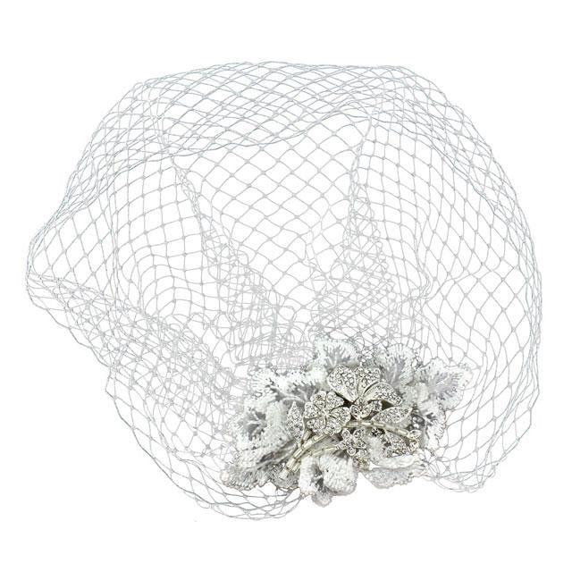 Couture Birdcage Veil Agrafa-big