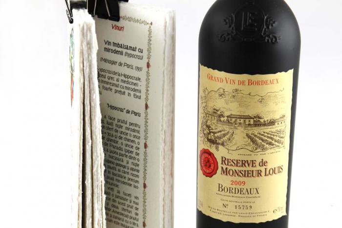 Cadou Bucătărie Medievală Franceză Și Vin Reserve De Monsieur Louis 1