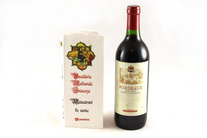 Cadou Bucătărie Medievală Franceză & Bordeaux 0