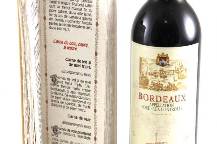 Cadou Bucătărie Medievală Franceză & Bordeaux 1
