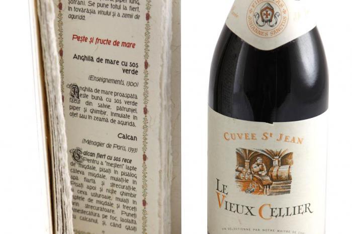Cadou Bucătărie Medievală Franceză & Le Vieux Cellier 1