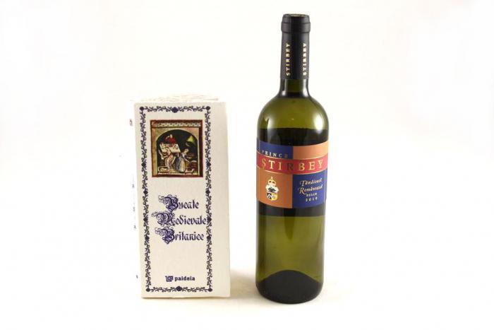Cadou Bucate Medievale Britanice & Prince Ştirbey Wine 0