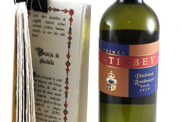 Cadou Bucate Medievale Britanice & Prince Ştirbey Wine 2