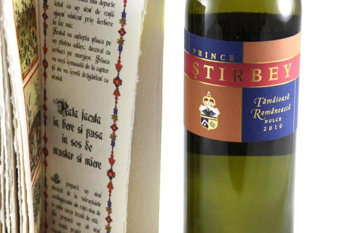 Cadou Bucate Medievale Britanice & Prince Ştirbey Wine 1