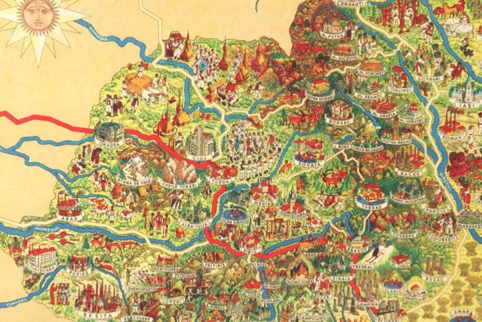 Set Cadou Romanian Hystory Collection - hartie manuala-big