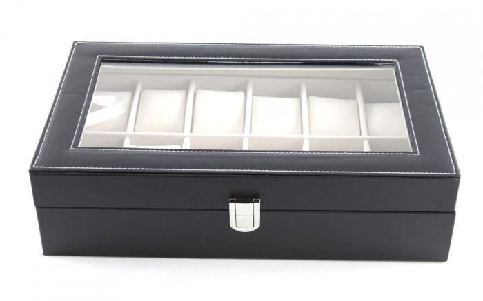 Set cutie 12 ceasuri piele si Note pad Hugo Boss - personalizabil-big