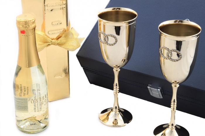 Fluet Champagne Gold by Chinelli - Made in Italy 3