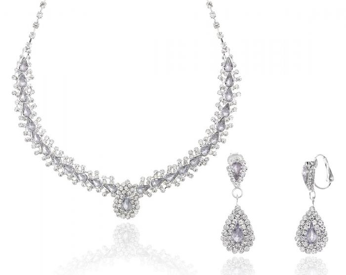 Crystal Lux Set cercei si colier-big