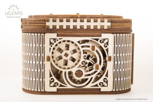 Cutia de comori Puzzle 3D Mecanic 1