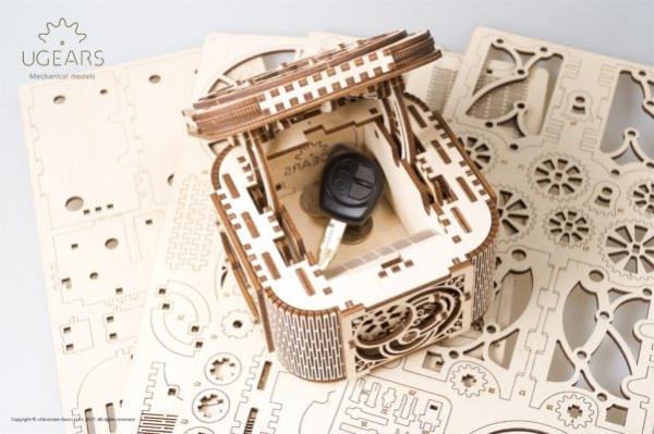 Cutia de comori Puzzle 3D Mecanic 2
