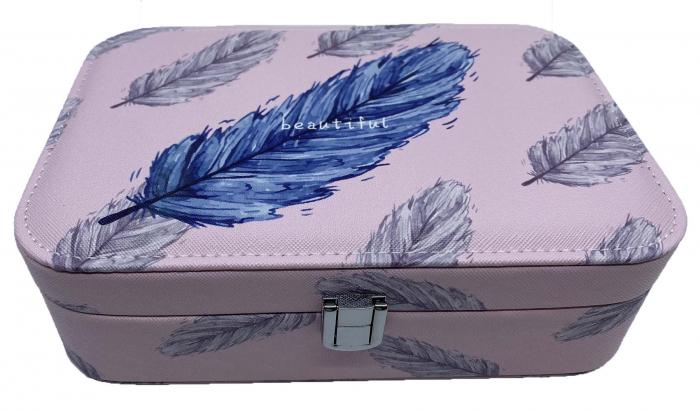 Cutie de bijuterii Beautiful Feather 0