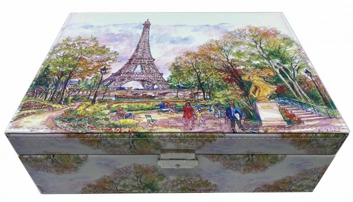 """Cutia de Bijuterii """"Turnul Eiffel"""" 0"""