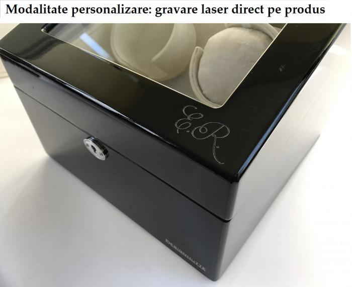 Cutie 22 ceasuri Dark Luxury Wood - personalizabil [2]