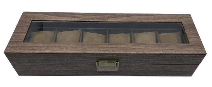 Cutie 6 ceasuri Premium Brown Leather [1]