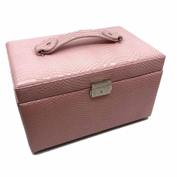 Cutia de bijuterii Elegant Pink by Borealy 0