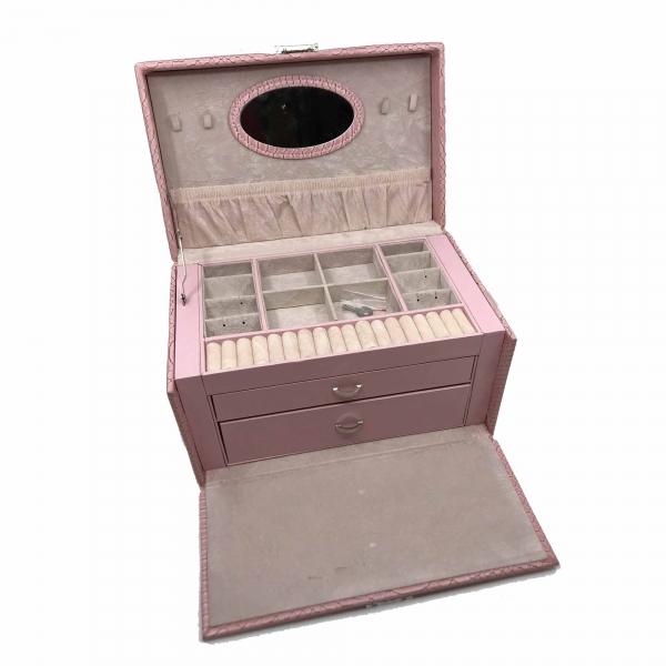 Cutia de bijuterii Elegant Pink by Borealy 2