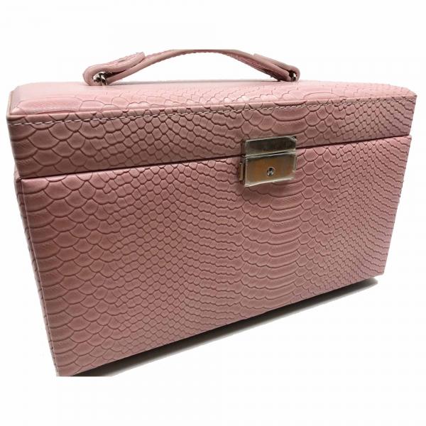 Cutia de bijuterii Elegant Pink by Borealy 1