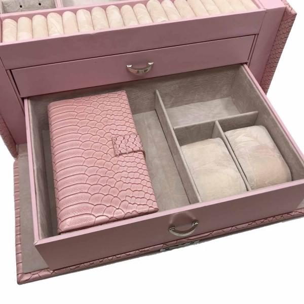 Cutia de bijuterii Elegant Pink by Borealy 3
