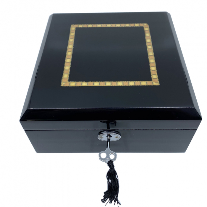 Cutie 6 ceasuri Luxury Wooden Black [4]