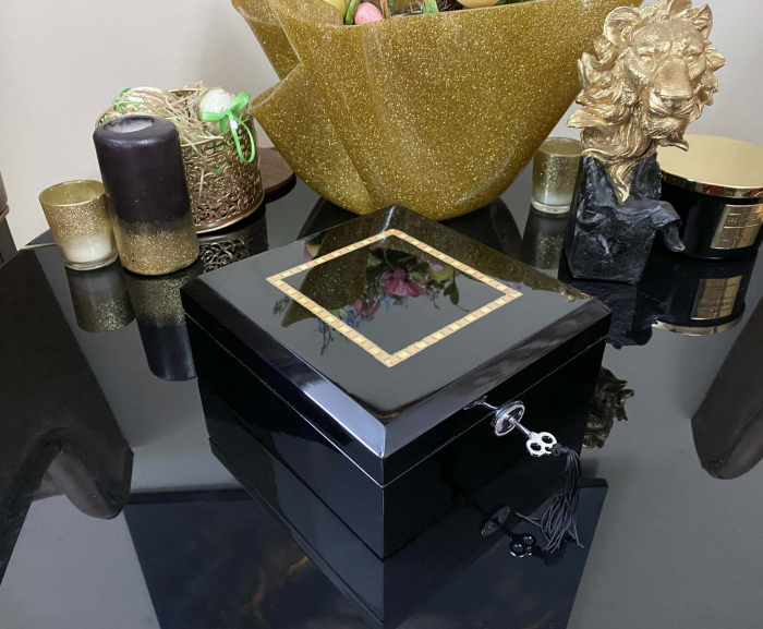 Cutie 6 ceasuri Luxury Wooden Black [5]