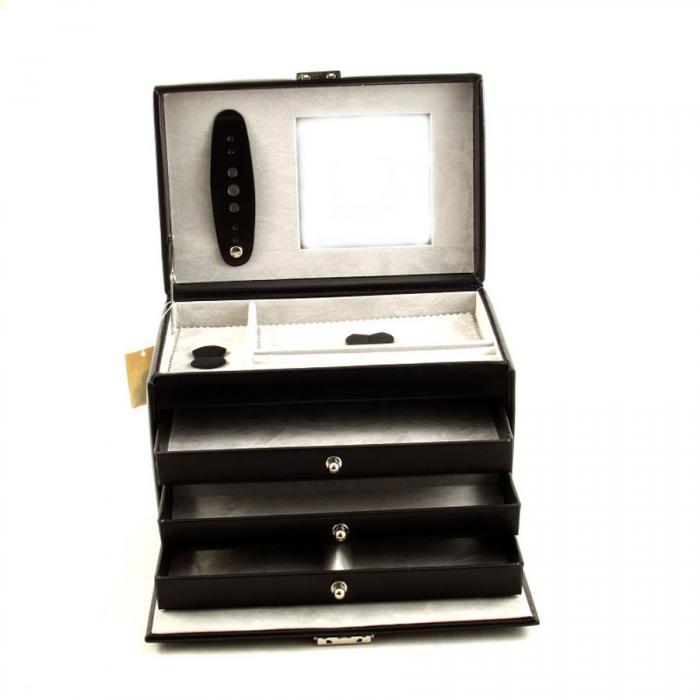Cutie de bijuterii Classico Luxury Black by Friedrich - Made in Germany-big