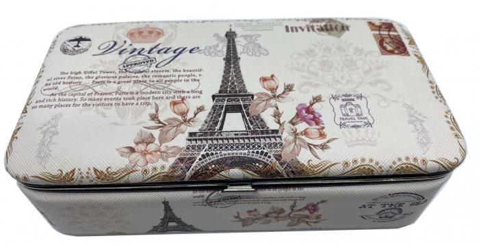 Cutie de bijuterii Eiffel Tower Vintage 0