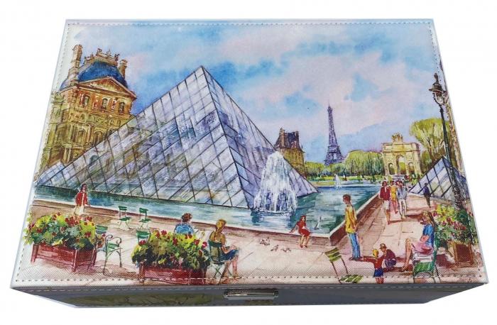 Cutie de Bijuterii Louvre Big - 30 cm x 21 cm 2