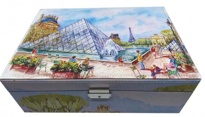 Cutie de Bijuterii Louvre Big - 30 cm x 21 cm 1