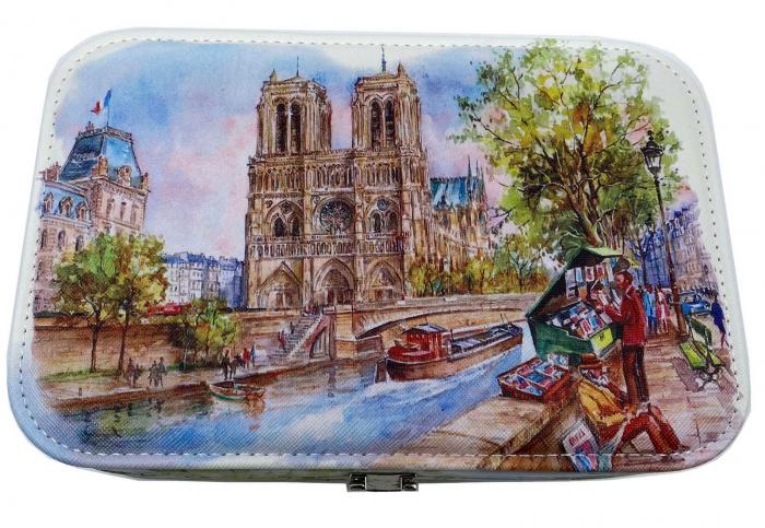 Cutie de bijuterii Notre-Dame 2