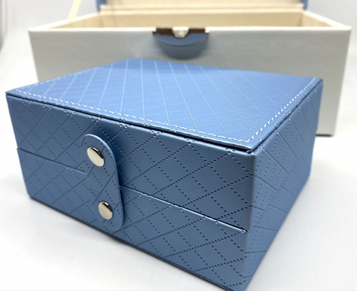 Cutie de bijuterii Perfect Blue 2 in 1 by Borealy 5