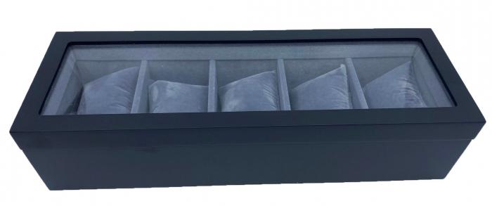 Cutie pentru 5 ceasuri Black Velvet 0