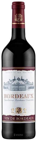 Cutie Vin Brown Treasure Chest cu 4 Accesorii & Vin Bordeaux Sec Rosu 0,75 ml [2]