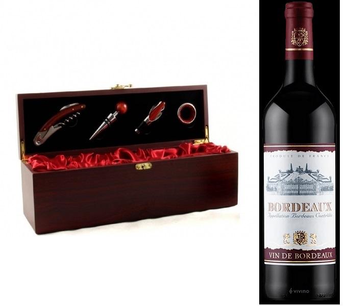 Cutie Vin Passion For Wine & Vin Bordeaux rosu, sec [0]