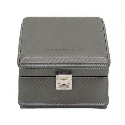 Cutie 4 ceasuri Carbon Grey Blue by Friedrich - Made in Germany-big