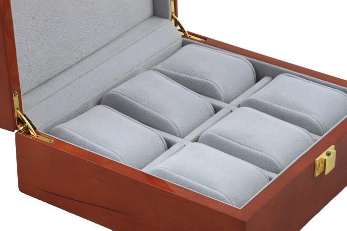 Cutie de ceasuri Wooden Luxury for 6 watches-big
