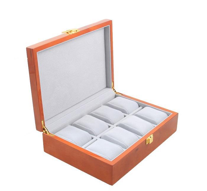 Cutie ceasuri Wooden Luxury for 8 watches 0