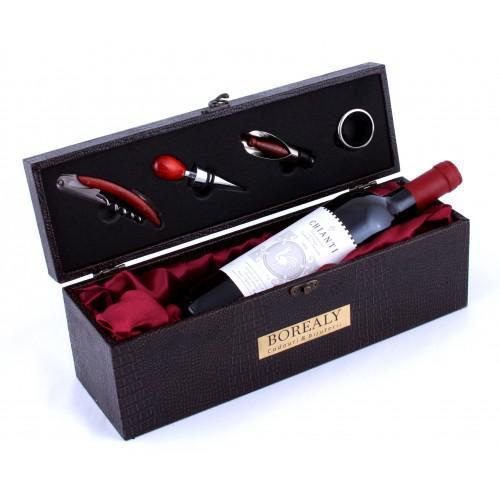 Cutie de Vin cu Ustensile & Melini Chianti 0