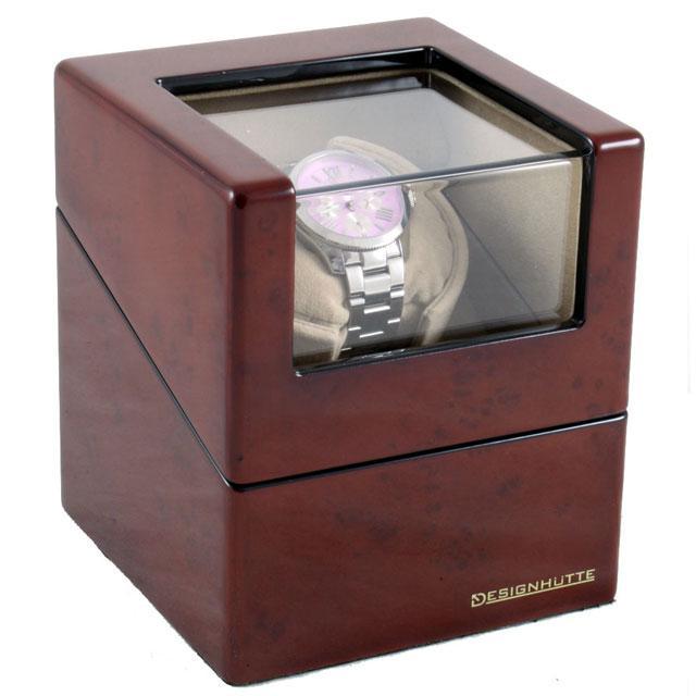 Cutie Watch Winder San Diego 1 Brown by Designhütte - Made in Germany-big