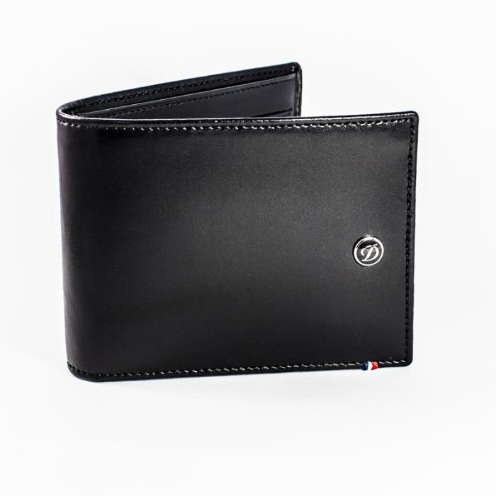 Set Leather Wallet Bank Note Black S.T. Dupont si Note Pad Black Hugo Boss 1