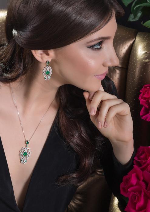 Dantelle Emerald Set by Borealy 2