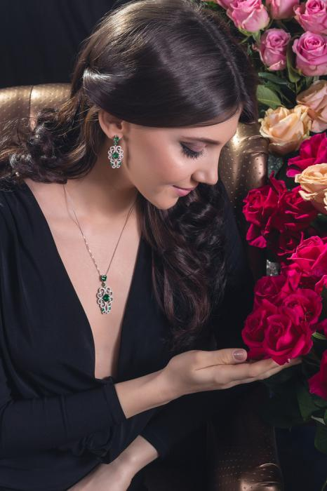 Dantelle Emerald Set by Borealy 3