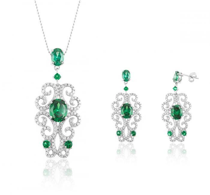 Dantelle Emerald Set by Borealy 0