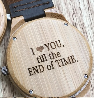 Wood Watch for Men - Ceas lemn ecologic personalizabil 3