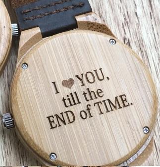 Luxury Wood Watch for Men - Ceas lemn ecologic personalizabil [5]