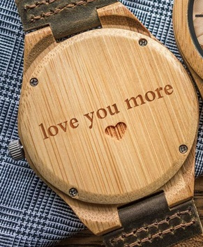 Wood Watch for Men - Ceas lemn ecologic personalizabil 2