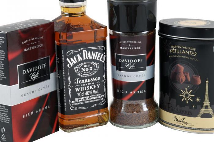 Delights for Men with Jack Daniels & Davidoff 1
