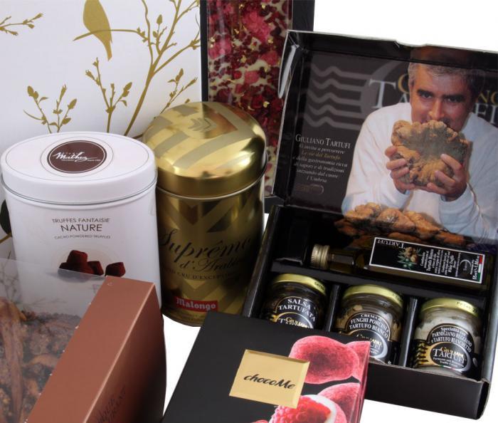 Deluxe Easter Gift Box, cu Trufe de Padure si Sampanie cu Aur 2
